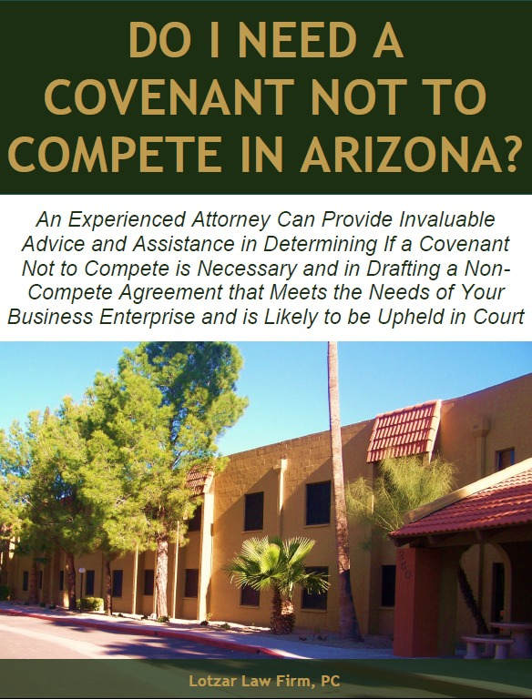 Do I Need A Covenant Not To Compete In Arizona